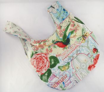 Paris in Bloom Medium Project Bag