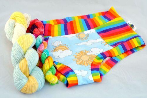 February Pants & Socks