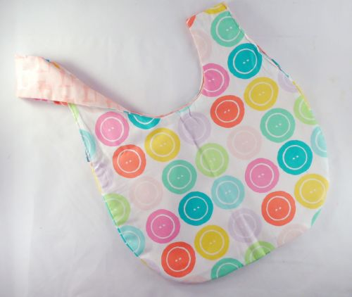 Buttons Medium Project Bag