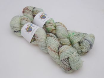 Fraser's Ridge on Merino Silk High Twist Sock