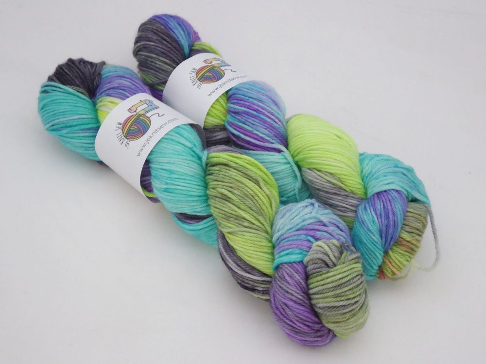 Twitchy Witchy on Merino / Nylon DK