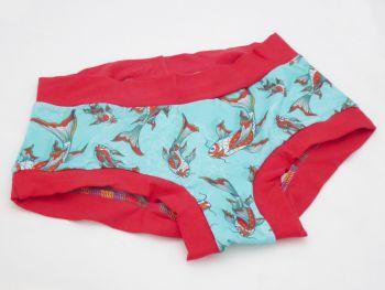 SMALL Boy Shorts UK 6-8 - Carpé Diem