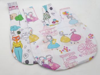 Candy Floss & Kittens Medium Project Bag