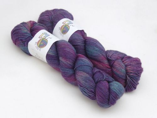 Water Nymph on Merino / Yak / Nylon sock
