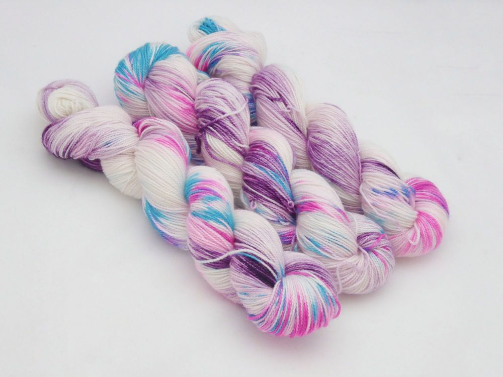 Jazzercise on Merino Silk High Twist Sock