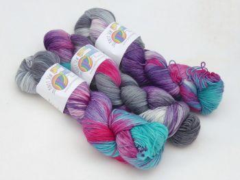 Shepherd's Delight on SuperMerino Sock