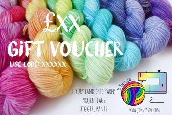Jo.Knit.Sew Gift Voucher