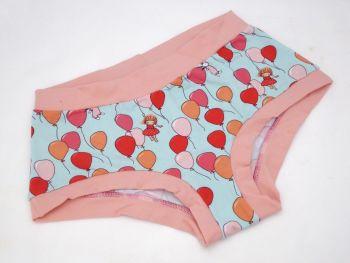 XL Boy Shorts UK 18-20 - Balloon Girl