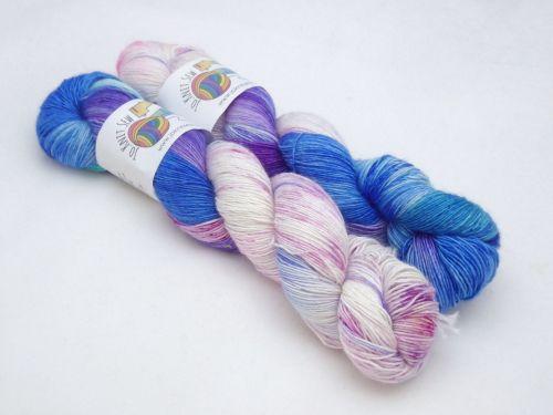 Colder Water on Merino / Silk Singles Sock