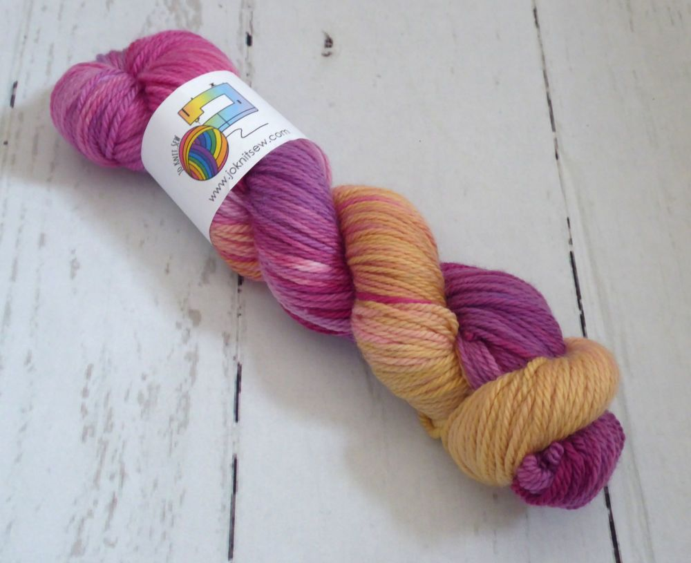 Plum Pudding on Super Merino Aran