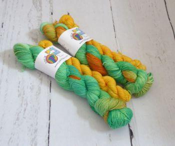 Courageous on Merino / Nylon Platinum Sock