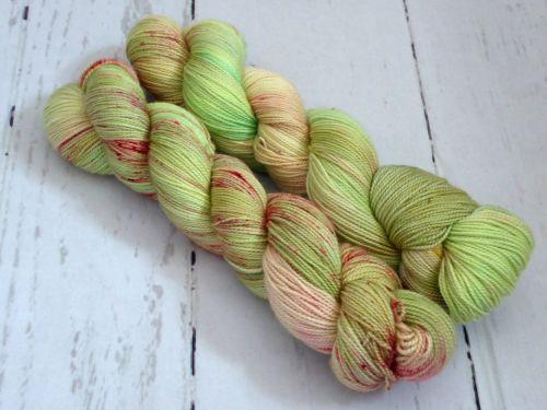 Vintage Seasons on Merino Silk High Twist Sock