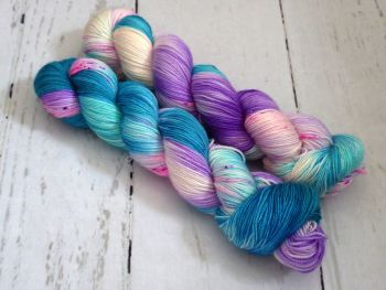Only Seventeen on Merino Silk High Twist Sock