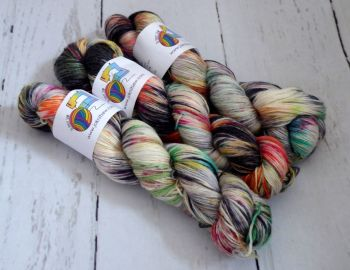 Charmed on Merino / Bamboo / Silk Sock