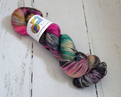 Conjured on Merino / Bamboo / Silk Sock