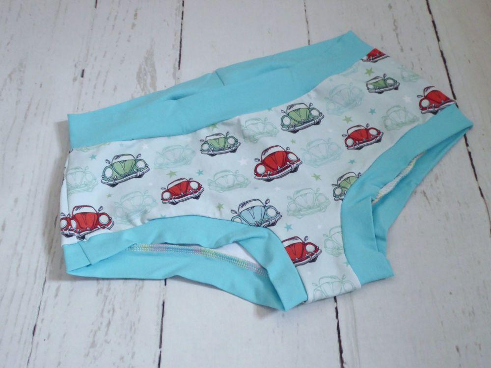 Medium Boy Shorts UK 14-16 - Bug Out