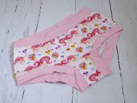 Medium Boy Shorts UK 10-12 - Pink Unicorns