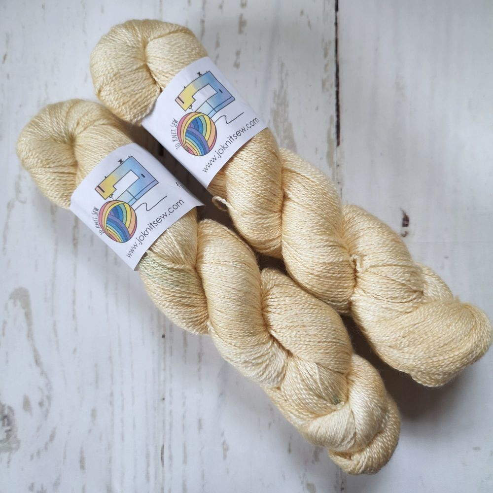 Ecru on BFL / Silk Lace