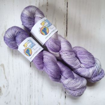 Lavender on BFL / Silk Lace