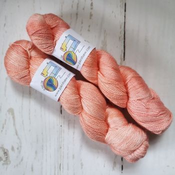 Coral on BFL / Silk Lace