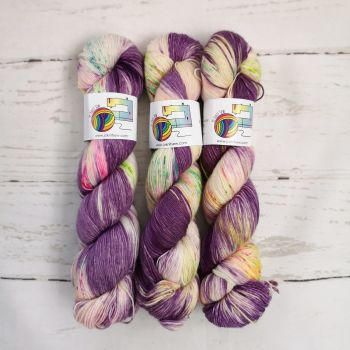 Funfetti on Merino Nylon Platinum sock