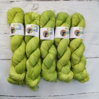 KIWI Semi Solid on Merino Nylon Platinum sock