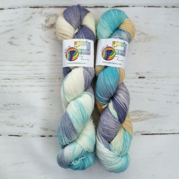 Rhapsody on Merino Nylon Platinum sock