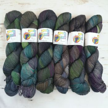 Opal's Eve on Merino Nylon Platinum sock