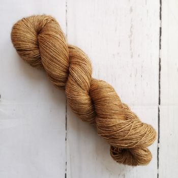 Solid Gold on Yak Singles Sock
