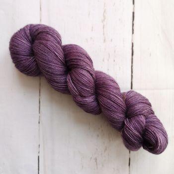 Solid Purple on Yak Singles Sock