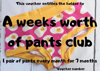 Jo.Knit.Sew Pants Club Gift Voucher