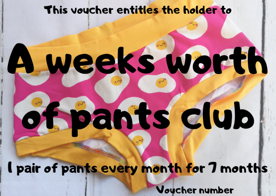 Jo.Knit.Sew Pants Club Gift Voucher