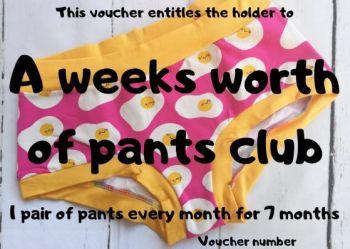 Jo.Knit.Sew Pants & Yarn Club Gift Voucher