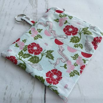 Zippered Notions Pouch - Fabrics as pictured