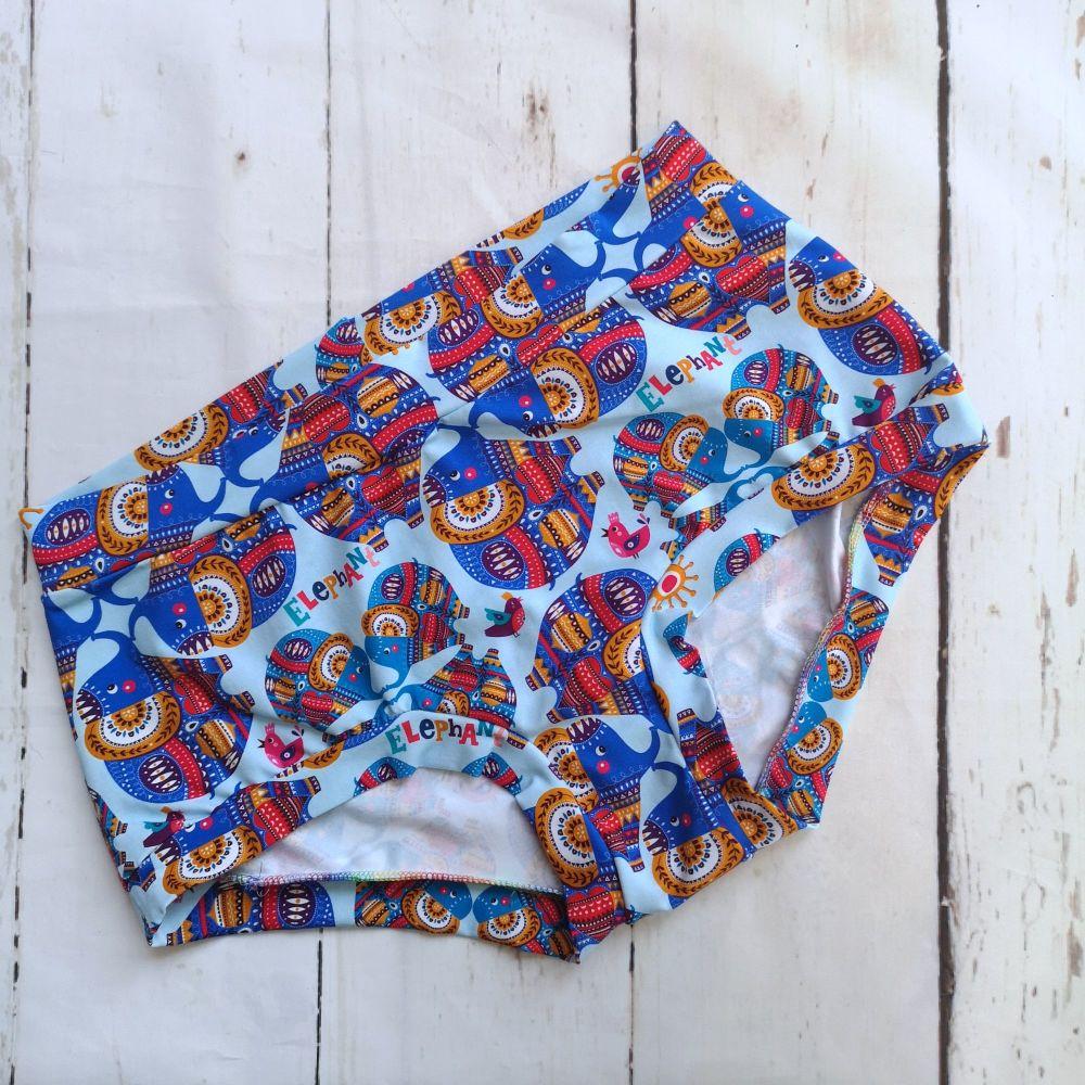 XL Boy Shorts UK 18-20 - Ele - Pants