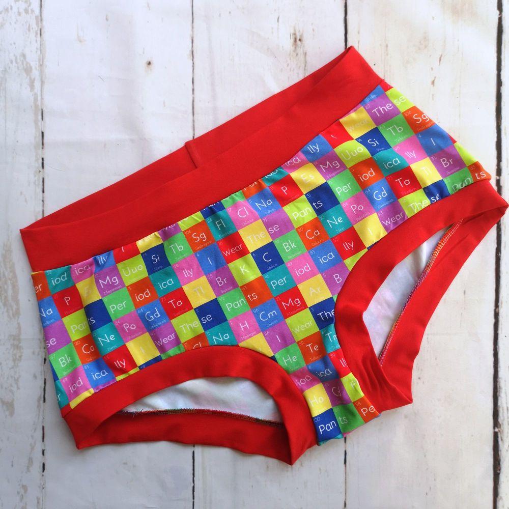 XL Boy Shorts UK 18-20 - Periodical Pants