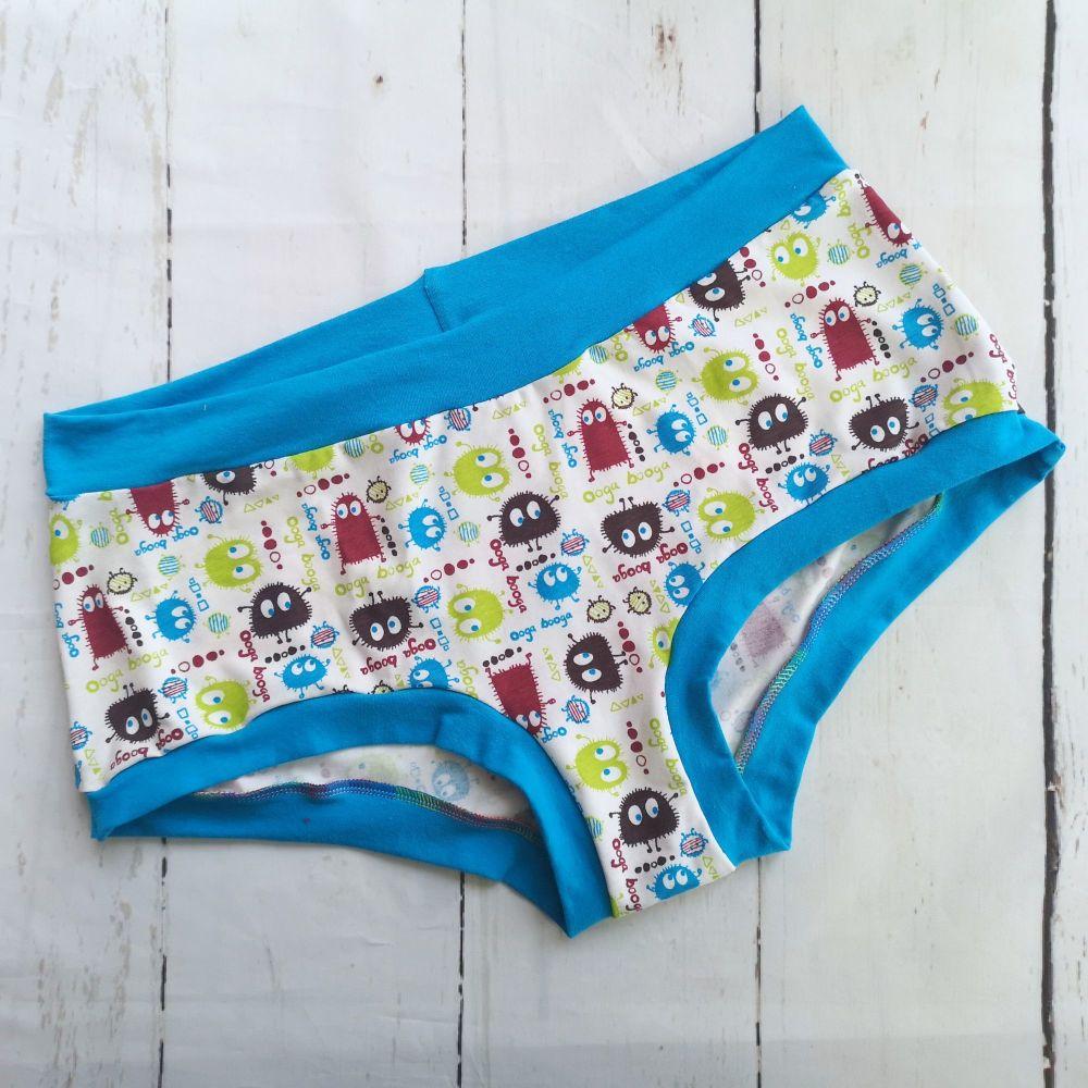 XXL Boy Shorts UK 22-24 - Spring Ooga