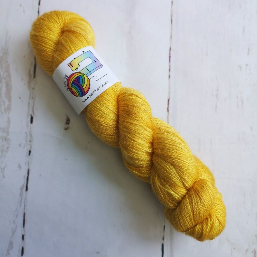 Mustard on BFL / Silk Lace
