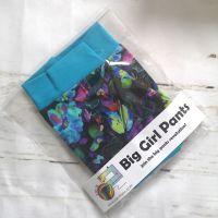 LARGE Boy Shorts UK 14-16 - Neon Flowers