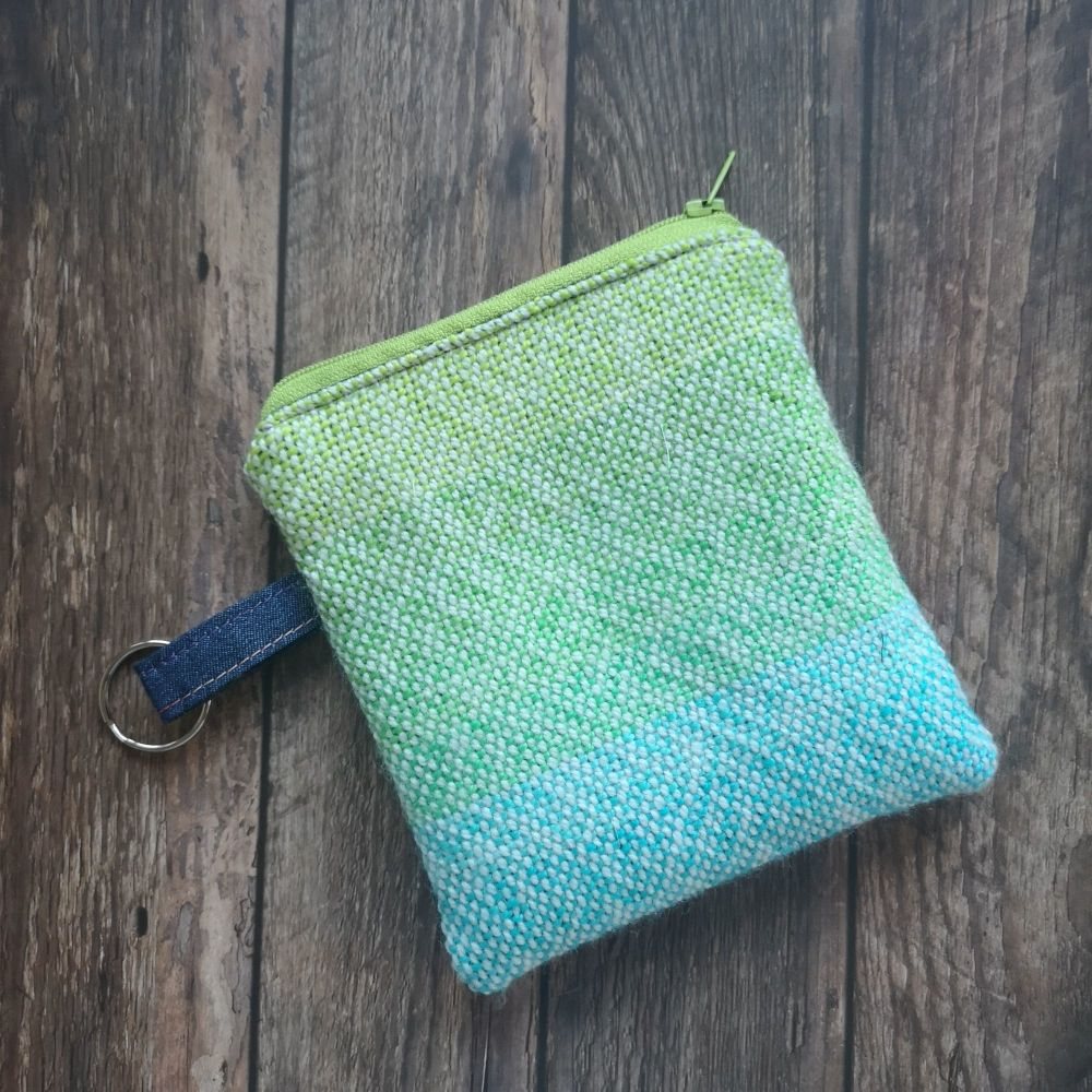 Hand Woven Zippered Notions Pouch