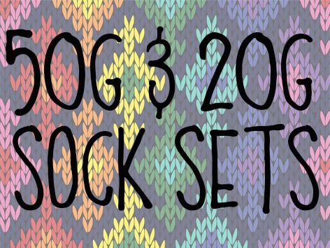 50g & 20g Sock Sets