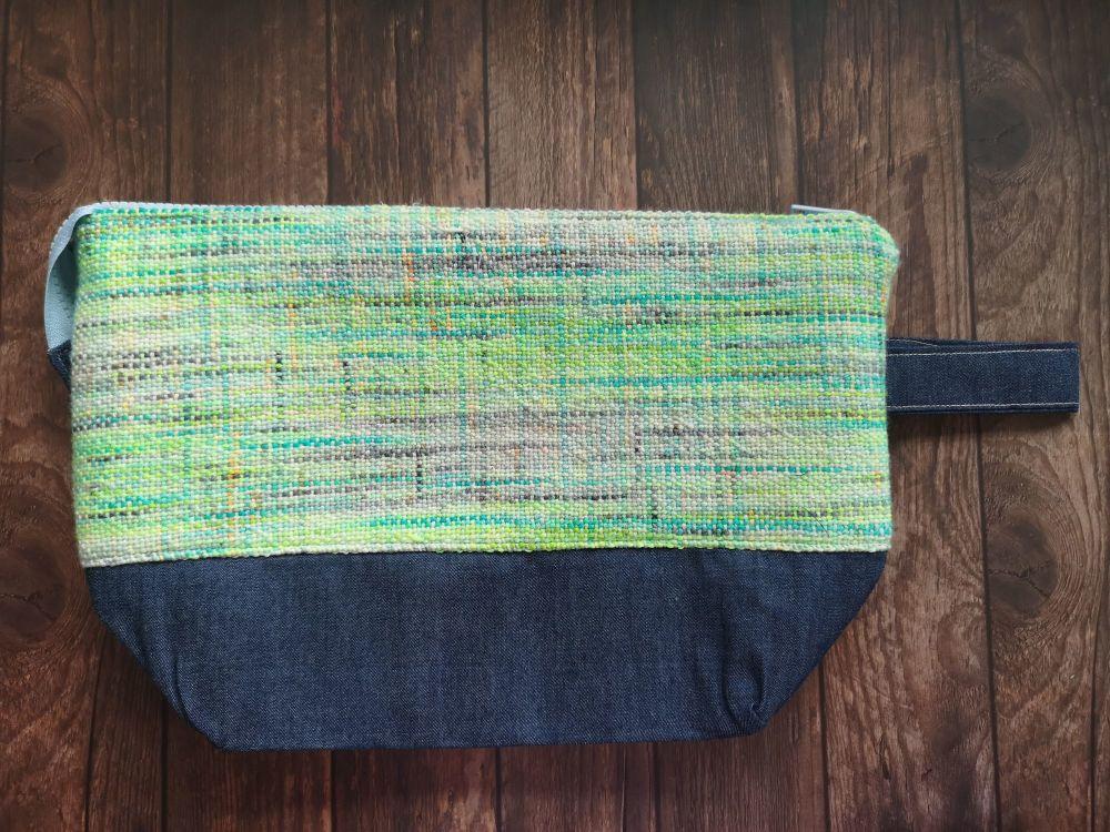 Hand Woven Boxy Bottomed bag