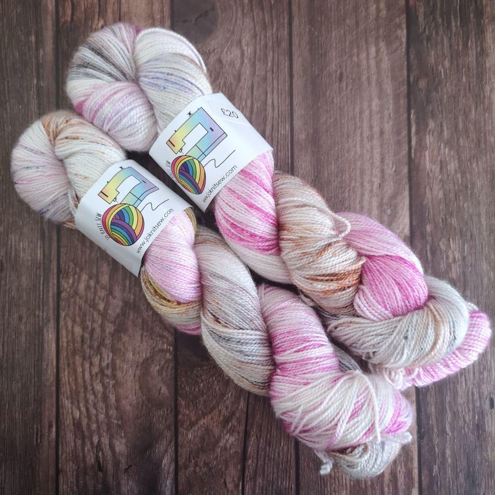 Feeling Good on Merino Silk High Twist Sock