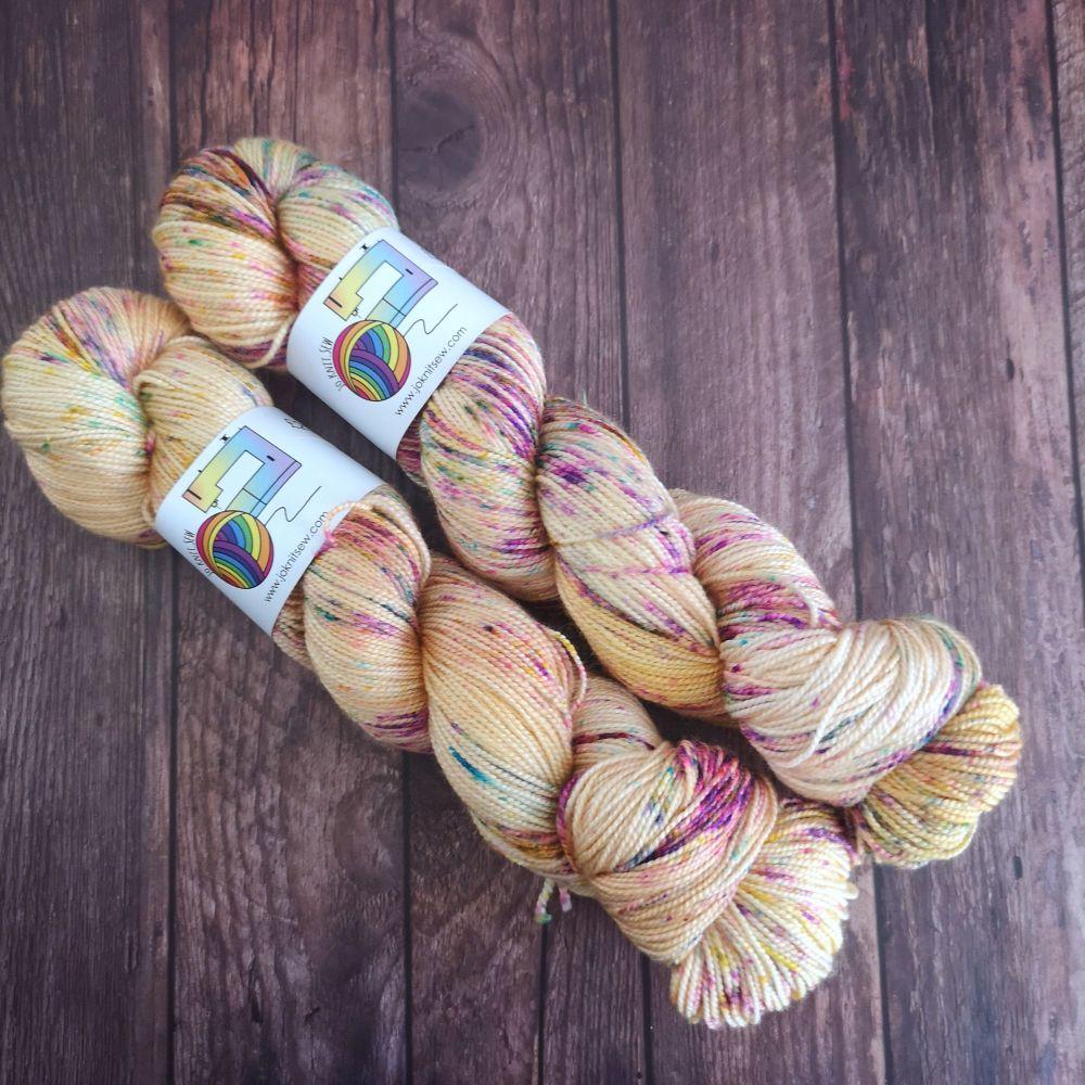 Glum on Merino Silk High Twist Sock