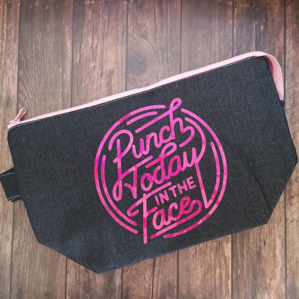 Punch Today Boxy Bottomed Project Bag