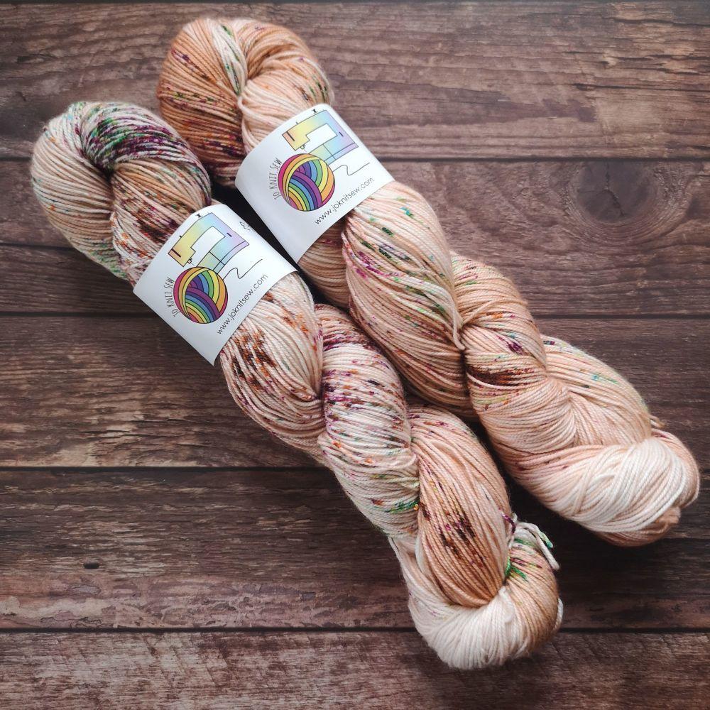 Cinnamon Toast on Merino Nylon sock