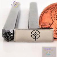 Four Leaf Clover Metal Design Stamp