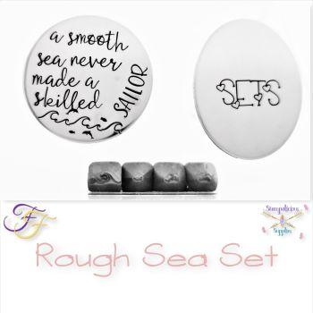 Sea Themed Metal Design Stamp Set