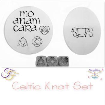 Celtic Metal Design Stamp Set