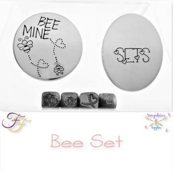 Bee Metal Design Stamp Set
